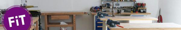 Neues aus der FiT Werkstatt: die Drechselmaschine