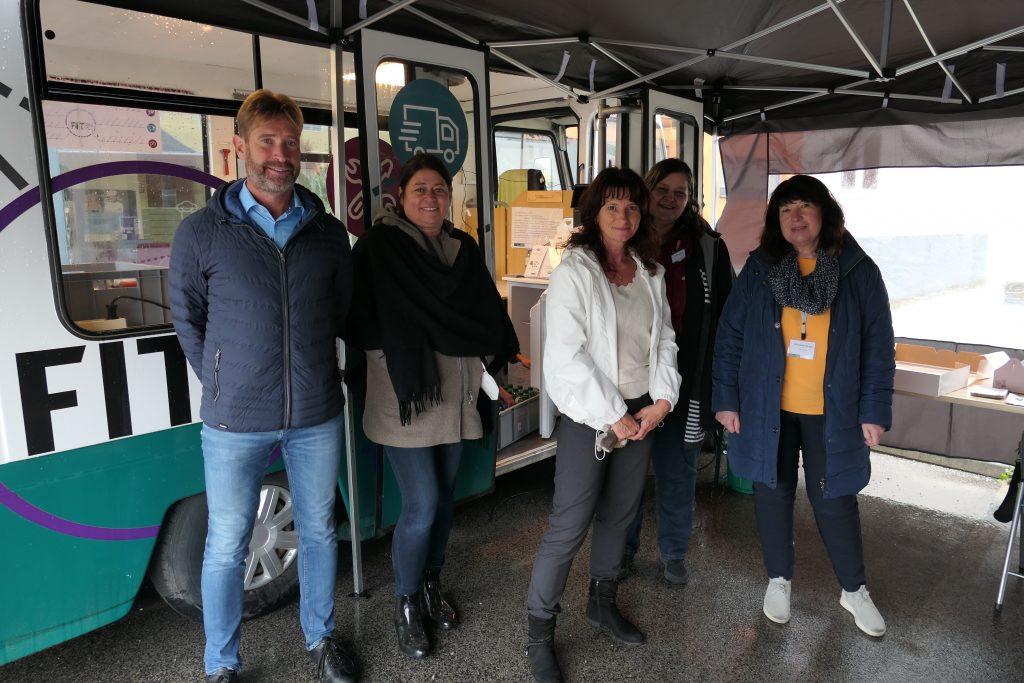 FiT Bus Tour: AMS Berater_innen zu Besuch